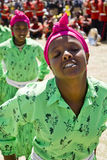 Ethiopian Women Performing a Dance Royalty Free Stock Photo