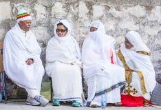 Ethiopische heilige brandceremonie Royalty-vrije Stock Afbeelding