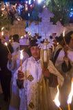 Ethiopische heilige brandceremonie Royalty-vrije Stock Fotografie