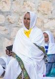 Ethiopische heilige brandceremonie Royalty-vrije Stock Afbeeldingen