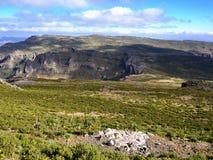 Ethiopische Hooglanden dichtbij Lalibela Royalty-vrije Stock Fotografie