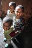 Ethiopische jonge geitjes Royalty-vrije Stock Afbeelding
