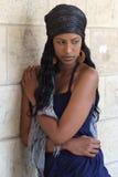 Ethiopische jonge schoonheid Royalty-vrije Stock Foto's