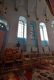 Ethiopische kerk in Jeruzalem Stock Foto's
