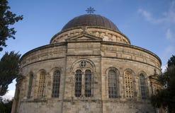 Ethiopische kerk, Jeruzalem, Israël royalty-vrije stock fotografie
