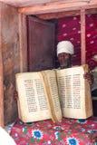 Ethiopische priester Royalty-vrije Stock Foto's