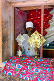 Ethiopische priester Stock Foto's