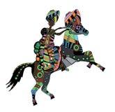 ethnic royaltyfri illustrationer