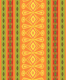 Ethnic Abstract bright pattern background. Stock Photos