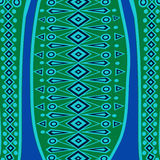 Ethnic Abstract bright pattern background. Vector illustration Stock Photos