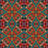 Ethnic abstract indian pattern Stock Images