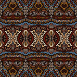 Ethnic Abstract Seamless Festive pattern Stock Photos