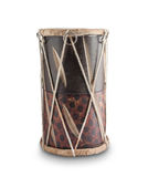 Ethnic African drum on a white background Royalty Free Stock Image