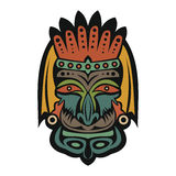 Ethnic African Mask Royalty Free Stock Photo