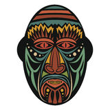 Ethnic African Mask Royalty Free Stock Images