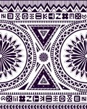Ethnic African ornament. Ethnic ornament. African origin with symbols and tribal elements Royalty Free Stock Images