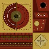 Ethnic African ornaments Royalty Free Stock Photography