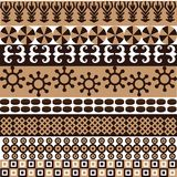 Ethnic african pattern Royalty Free Stock Images