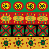 Ethnic African pattern with ornament Stock Photography