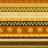 Ethnic African Seamless Background Royalty Free Stock Photo