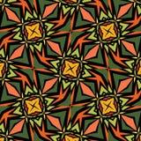 Ethnic african Spanish ornaments. Background ethnic african Spanish ornaments for textures stock illustration