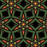 Ethnic african Spanish ornaments. Background ethnic african Spanish ornaments for textures royalty free illustration