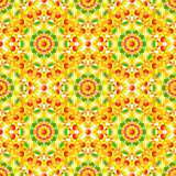 Ethnic African style circles seamless pattern Stock Image