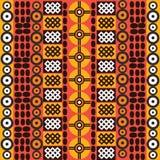 Ethnic african symbols Royalty Free Stock Photography