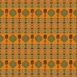 Ethnic African tribal siamless pattern. Royalty Free Stock Images