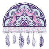 Ethnic American Indian Dream catcher Royalty Free Stock Images
