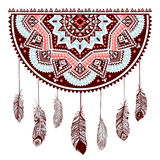 Ethnic American Indian Dream catcher Royalty Free Stock Image
