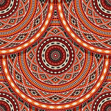 Ethnic American Indian pattern Royalty Free Stock Photos