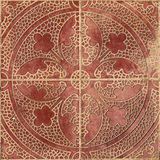 Ethnic Arabic ornaments pattern tiles design Royalty Free Stock Photo