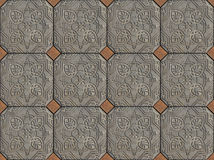Ethnic Arabic ornaments pattern tiles design Stock Photos