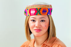 Ethnic asian woman Royalty Free Stock Photography
