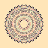 Ethnic Aztec circle ornament Royalty Free Stock Images