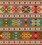 Ethnic background. Background with ethnic motifs. Seamless pattern Vector Illustration