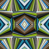 Ethnic background, abstract kaleidoscope Royalty Free Stock Photo