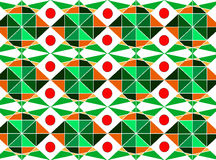 Ethnic background. With elements of geometric shapes and bright colors Royalty Free Stock Photography