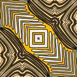 A Ethnic Geometric Pattern Design with yellowcolor. vector illustration