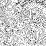 Ethnic background pattern Stock Images