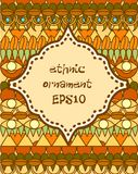 Ethnic background Royalty Free Stock Photos