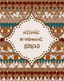 Ethnic background Royalty Free Stock Photography
