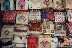 Ethnic Bags Royalty Free Stock Photos