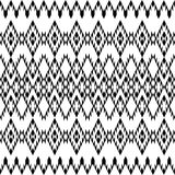 Ethnic black texture. Ethnic black and white texture stock illustration