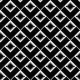 Ethnic black texture. In diagonal stock illustration
