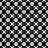 Ethnic black and white texture Royalty Free Stock Photo