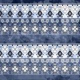 Ethnic boho grunge old pattern. Tribal art print. Colorful vinta Stock Images