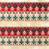 Ethnic boho grunge old pattern. Tribal art print Royalty Free Stock Images