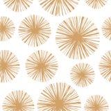 Ethnic boho hand drawn seamless patterns. Royalty Free Stock Image